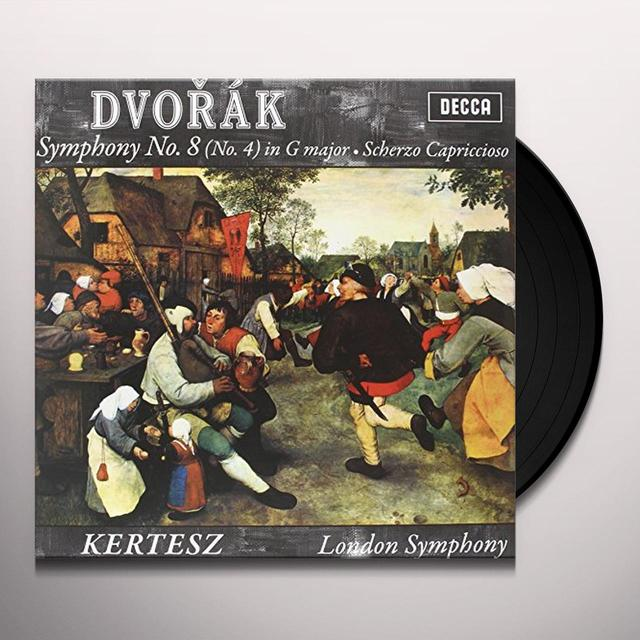 Dvorak / Kertesz SYMPHONY 8 Vinyl Record - 180 Gram Pressing