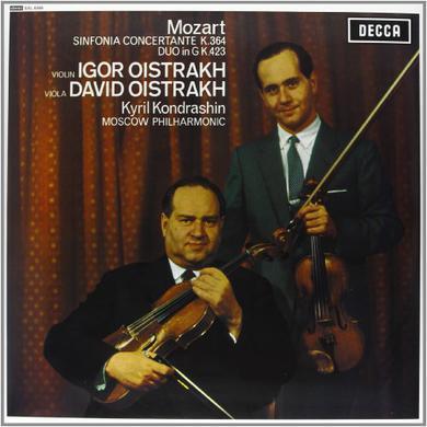 Mozart / Kondrashin SINFONIA CONCERTANTE Vinyl Record