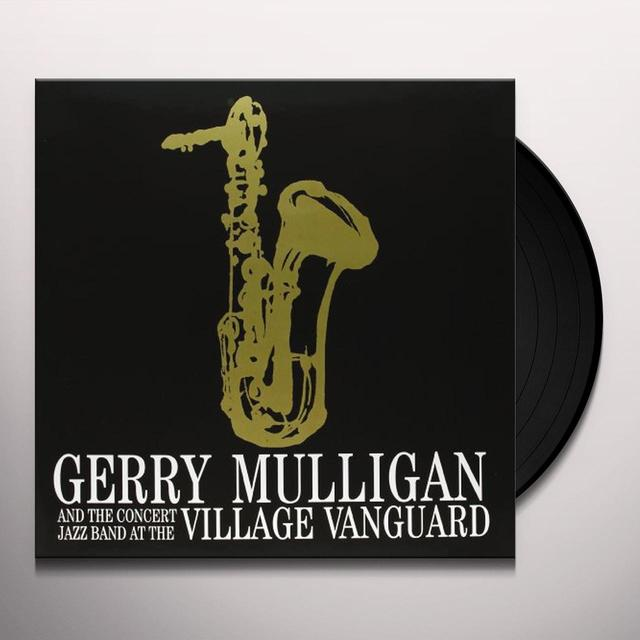GERRY MULLIGAN & CONCERT JAZZ BAND AT THE VILLAGE Vinyl Record