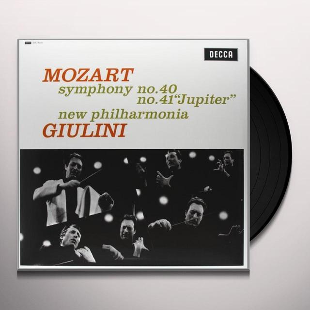 Mozart / Giulini SYMPHONIES 40 & 41 Vinyl Record
