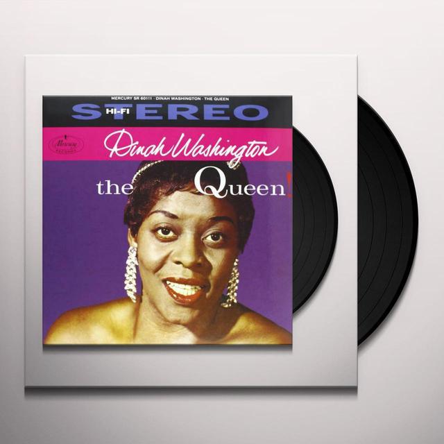 Dinah Washington QUEEN Vinyl Record