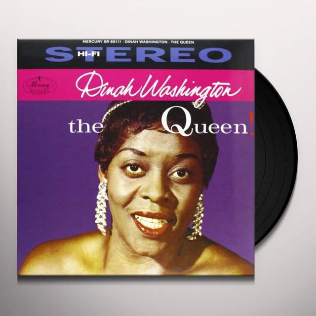 Dinah Washington QUEEN Vinyl Record - 180 Gram Pressing