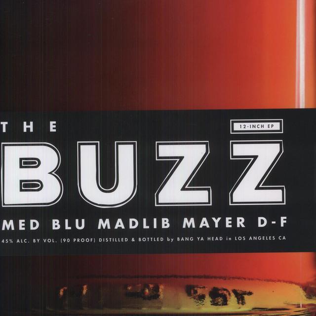 Med / Blu / Madlib BUZZ (EP) Vinyl Record