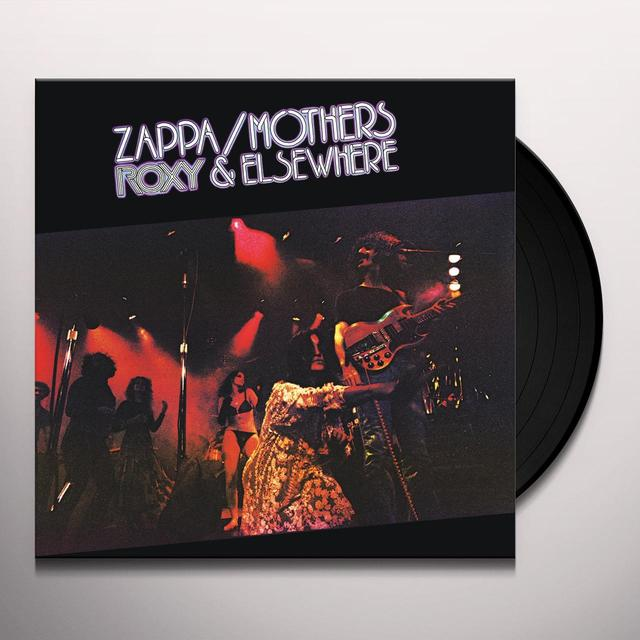 Frank Zappa ROXY & ELSEWHERE Vinyl Record