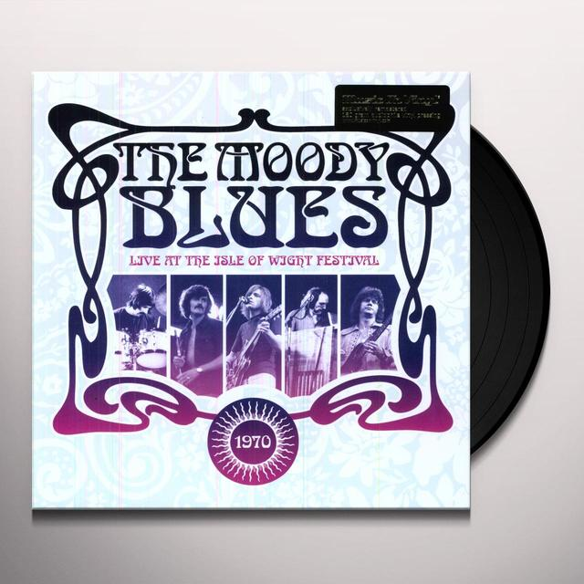 The Moody Blues LIVE AT THE ISLE OF WIGHT FESTIVAL: 1970 (OGV) (Vinyl)
