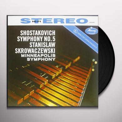 Shostakovich / Skrowacziewski SYMPHONY 5 Vinyl Record