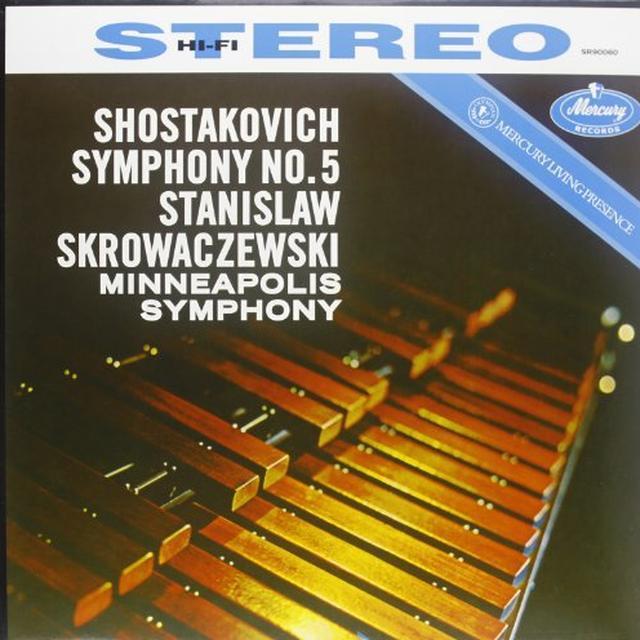Shostakovich / Skrowacziewski SYMPHONY 5 Vinyl Record - 180 Gram Pressing