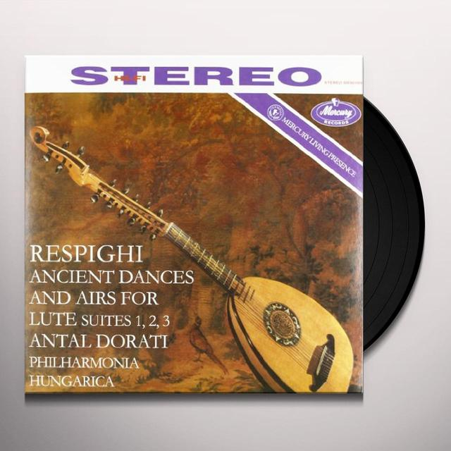 Respighi / Dorati ANCIENT AIRS & DANCES FOR LUTE & ORCHESTRA Vinyl Record