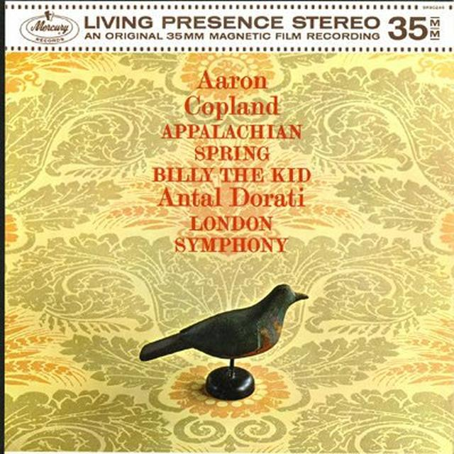 Copland / Dorati APPALACHIAN SPRINGS BILLY THE KID Vinyl Record - 180 Gram Pressing