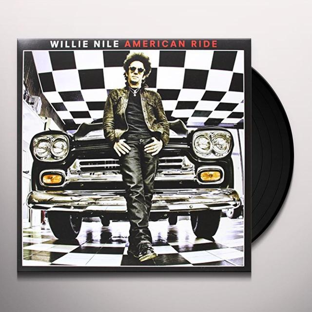 Willie Nile AMERICAN RIDE Vinyl Record