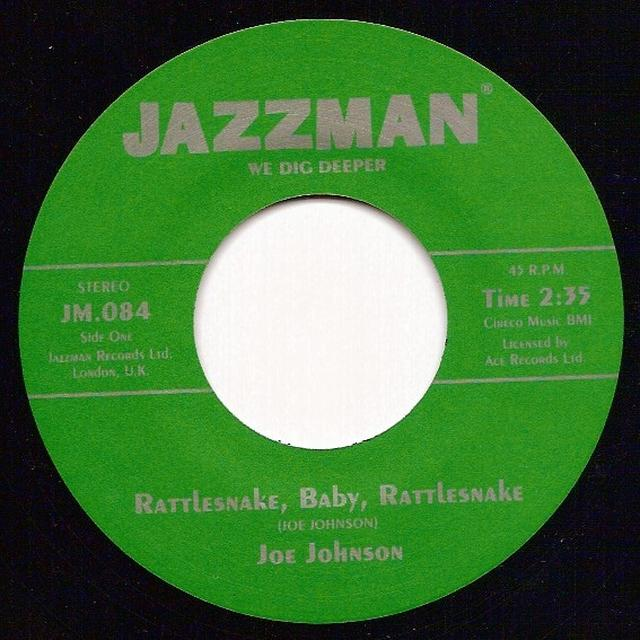 Joe Johnson RATTLESNAKE BABY RATTLESNAKE Vinyl Record - UK Release