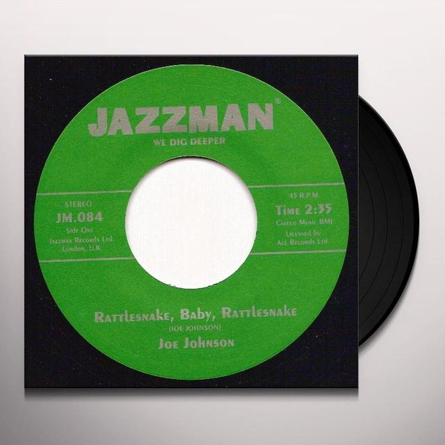 Joe Johnson RATTLESNAKE BABY RATTLESNAKE Vinyl Record - UK Import
