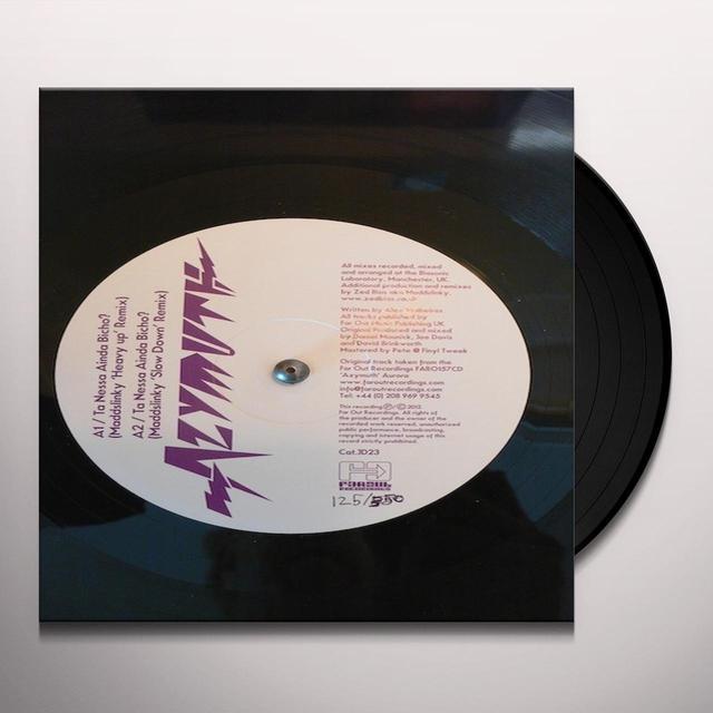 Azymuth TA NESSA AINDA BICHO Vinyl Record - UK Release