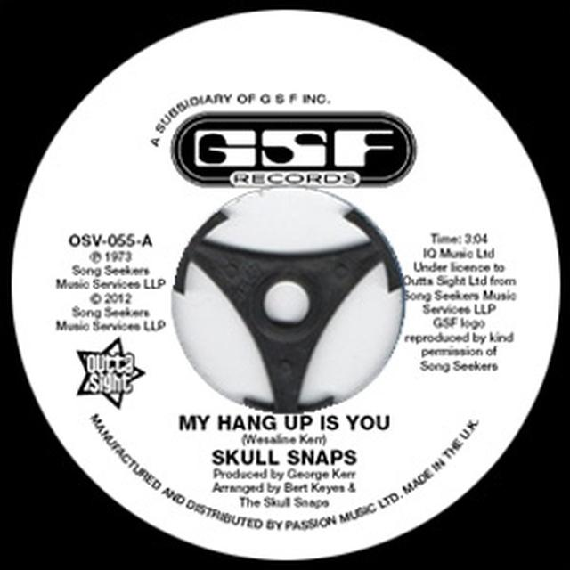 Skull Snaps MY HANG UP IS YOU/I'M YOUR PIMP Vinyl Record - UK Import