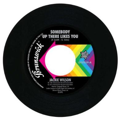 Jackie Wilson SOMEBODY UP THERE LIKES YOU/A LOVELY WAY TO DIE Vinyl Record
