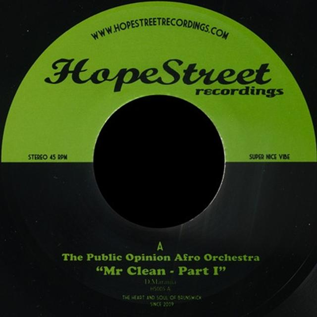 Public Opinion Afro Orchestra MR CLEAN PART 1 & 2 Vinyl Record - UK Release