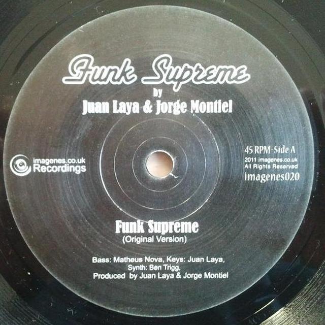 Juan Laya & Jorge Montiel FUNK SUPREME Vinyl Record - UK Release