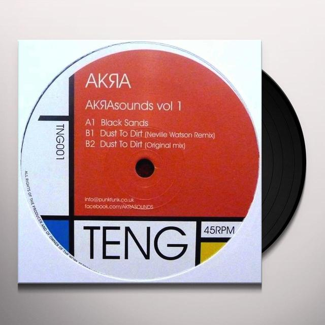 VOL. 1-AKRASOUNDS Vinyl Record - UK Release
