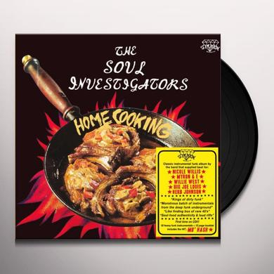 The Soul Investigators HOME COOKING Vinyl Record - UK Import