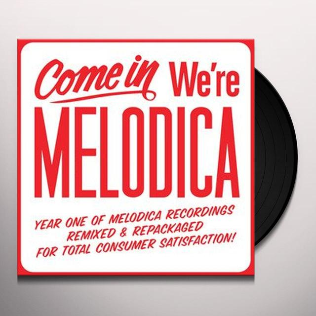 Come In We'Re Melodica Sampler / Various (Uk) COME IN WE'RE MELODICA SAMPLER / VARIOUS Vinyl Record - UK Release