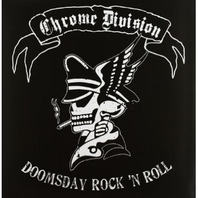 Chrome Division DOOMSDAY ROCK'N'ROLL Vinyl Record - Holland Import