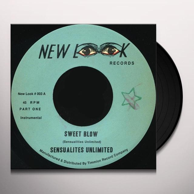 Sensualites Unlimited SWEET BLOW Vinyl Record - UK Release