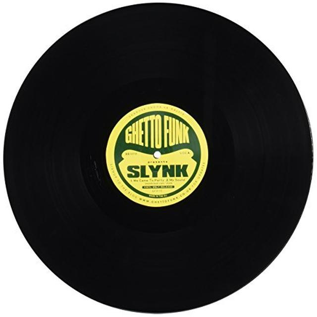 Slynk GHETTO FUNK PRESENTS Vinyl Record