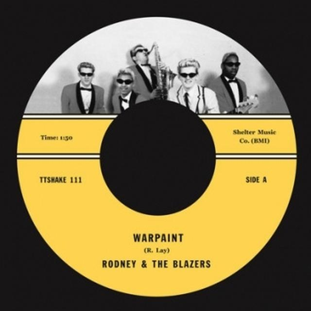 Rodney & The Blazers WARPAINT/ORIENTAL NIGHTMARE Vinyl Record - UK Release