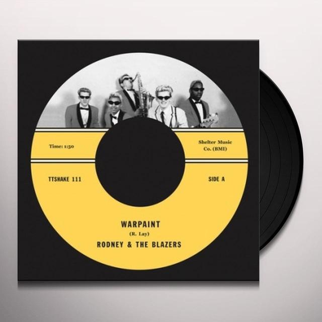 Rodney & The Blazers WARPAINT/ORIENTAL NIGHTMARE Vinyl Record - UK Import