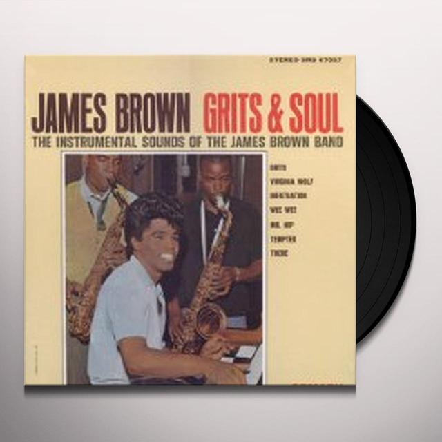 Grits MAKE A SOUND (LIKE JAMES BROWN) Vinyl Record - UK Release