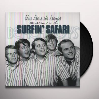 The Beach Boys SURFIN' SAFARI Vinyl Record - Holland Import