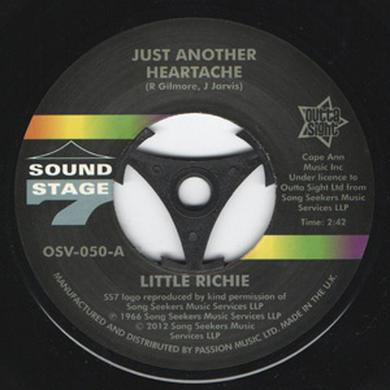Little Richie JUST ANOTHER HEARTACHE/ONE BO-DILLION YEARS Vinyl Record