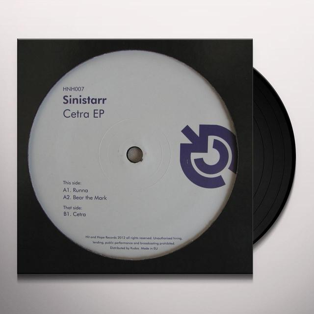 Sinistarr CETRA Vinyl Record - UK Import