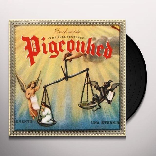 Pigeonhed FULL SENTENCE THE Vinyl Record - UK Import