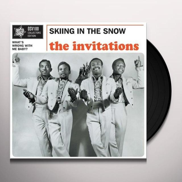 Invitations SKIING IN THE SNOW/WHAT'S WRONG WITH ME BABY? Vinyl Record - UK Import