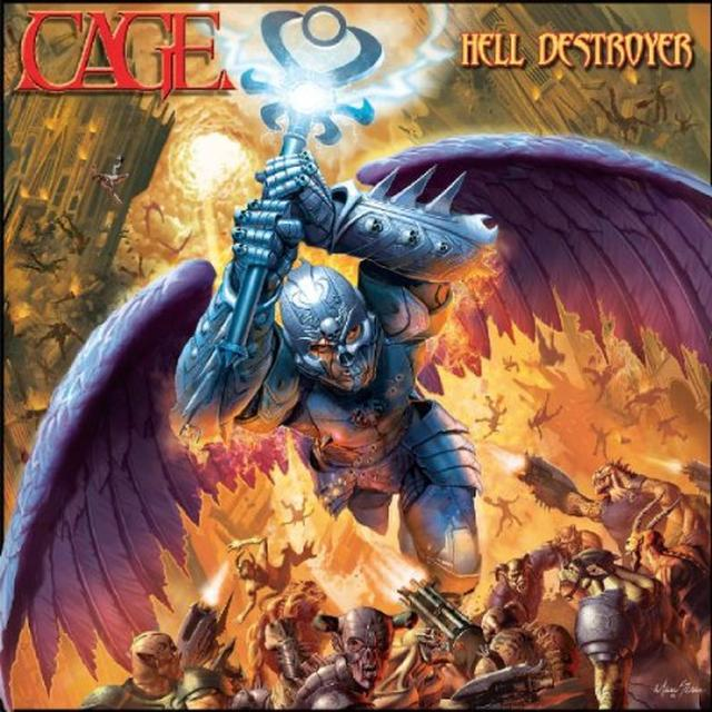 Cage HELL DESTROYER (GER) Vinyl Record