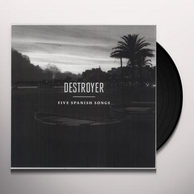 Destroyer FIVE SPANISH SONGS Vinyl Record - UK Import