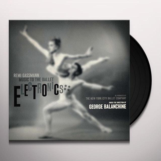 Remi Gassmann ELECTRONICS (UK) (Vinyl)