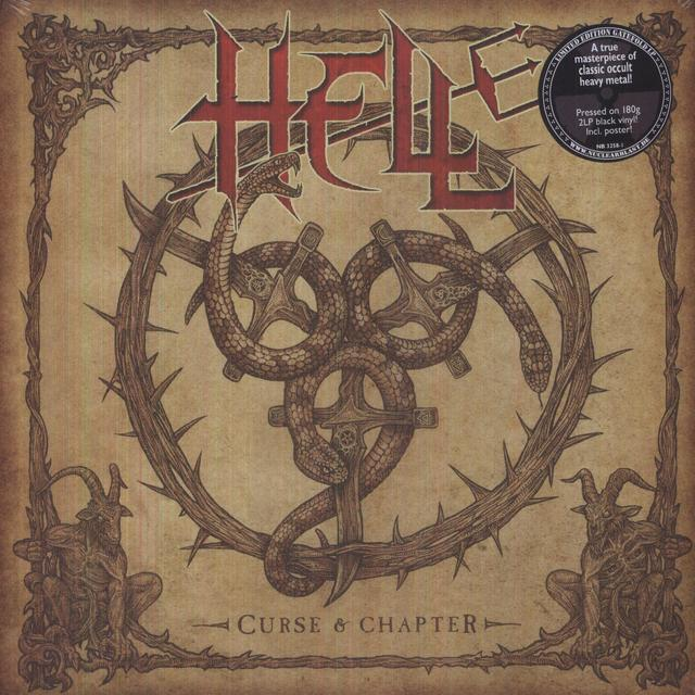 Hell CURSE & CHAPTER Vinyl Record - UK Import