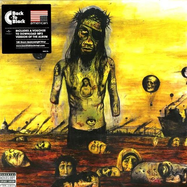 Slayer CHRIST ILLUSION Vinyl Record - UK Import