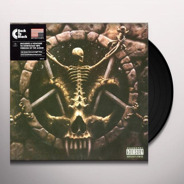 Slayer DIVINE INTERVENTION Vinyl Record - UK Import