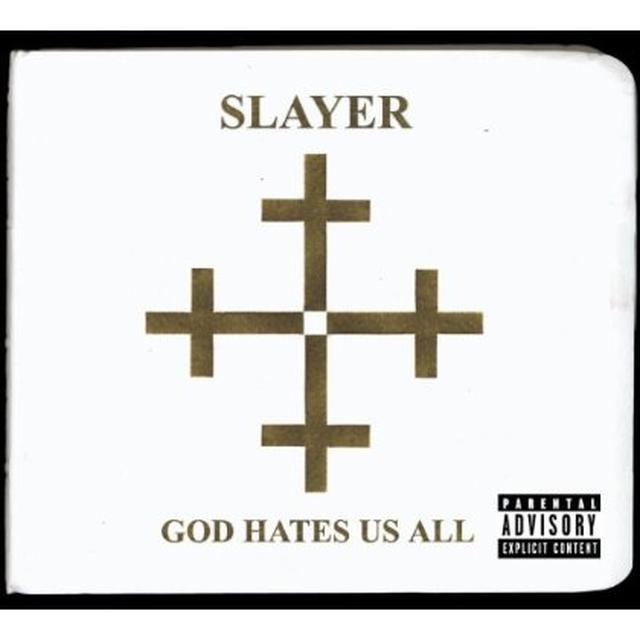 Slayer GOD HATES US ALL Vinyl Record - UK Import