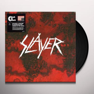 Slayer WORLD PAINTED BLOOD Vinyl Record
