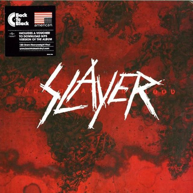 Slayer WORLD PAINTED BLOOD (HK) Vinyl Record