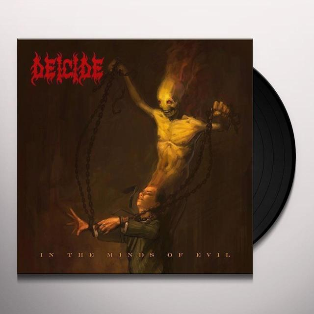 Deicide IN THE MINDS OF EVIL Vinyl Record - Holland Import