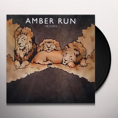 Amber HEAVEN Vinyl Record - UK Import