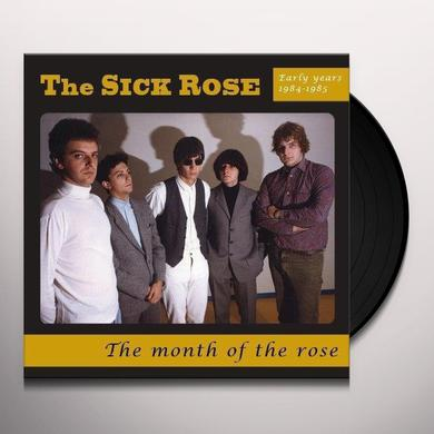 The Sick Rose MONTH OF THE ROSE Vinyl Record - Italy Import