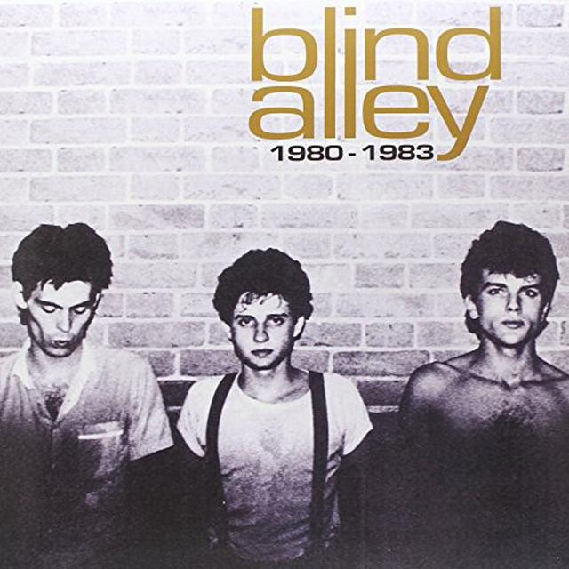 Blind Alley 1980-83 Vinyl Record - Italy Import