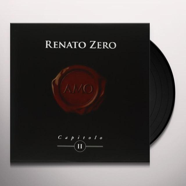 Zero Renato AMO-CAPITOLO II Vinyl Record - Italy Import
