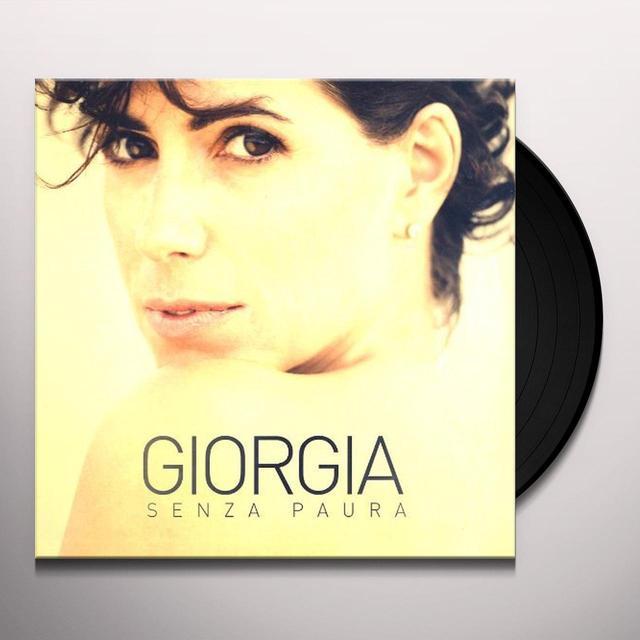 Giorgia SENZA PAURA (GER) Vinyl Record